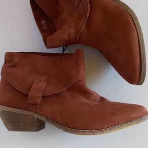 Forever21 Taupe Ankle Booties READ...